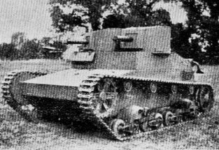 Char Vickers 6 ton Bi turret