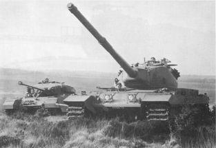 12 Conqueror And Centurion Mk III