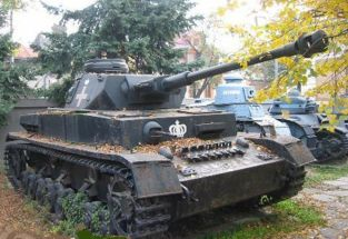 Char Panzer IV or T4 Museum of Bucharest