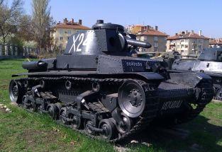 15 Char Skoda LT 35 Sofia Museum
