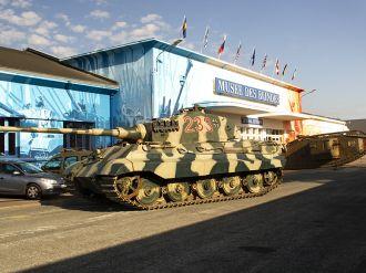 Ankunft des Tigers II