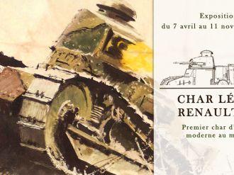 在Courrier de l'Ouest Renault FT展会上发表的文章