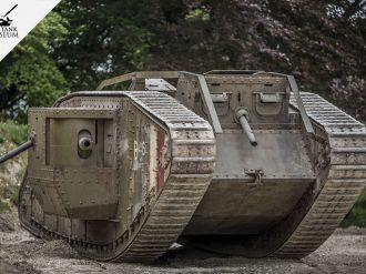 Mark IV des Bovington Tank Museum im Carrousel de Saumur 2018