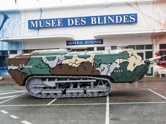 Saint-Chamond absent from the museum exhibition
