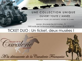 Duo-Ticket: ein Ticket, zwei Museen!