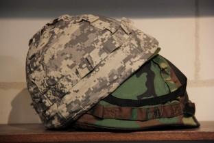 Military child helmet (plastic and adjustable)