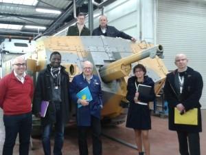 Das Sankt-Chamond-Tank-Wiederaufbauprojekt
