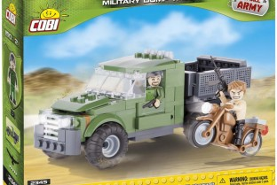 Military dump truck (2345)