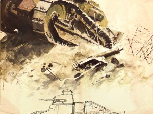 Ausstellung: Renault FT Light Tank