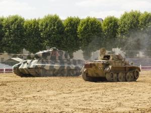 虎II在索米尔2018的卡鲁塞尔