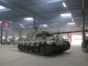 The Tiger II is back at the museum!