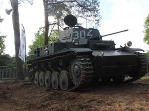 在荷兰的气球博物馆的Panzer II