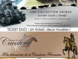 Duo ticket: a ticket, two museums!