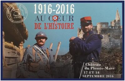 '1916-2016 At the heart of history' at the Château du Plessis Macé