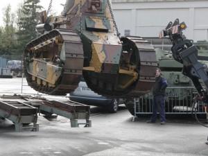 返回我们的FT17与Panzer I交换