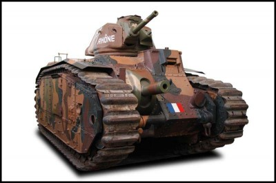 The Renault B1 bis