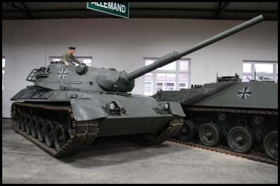 豹I和II坦克
