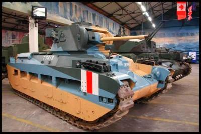 Matilda MK I和II坦克