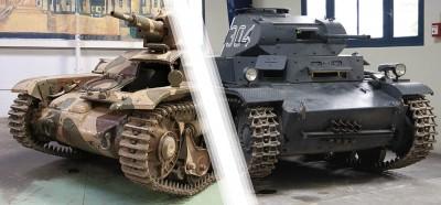 ブレストの2つの戦車