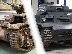 Two tanks in Brest