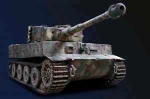 Der Tiger I Sd.Kfz.181 Ausf. Ich bin spät