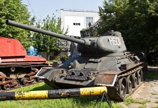 Char T34 / 85 Museum of Bucharest