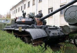 Char T55A Museum of Bucharest