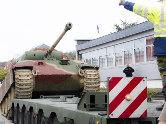 Our Panther at the commemorations of the Battle of the Bulge