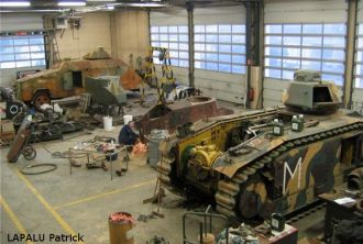 General view of the workshop