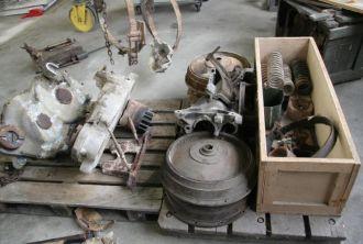Storage of parts