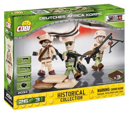German soldiers Afrika Korps figurines (2034)