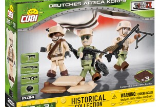 German soldiers Afrika Korps figurines (2034)