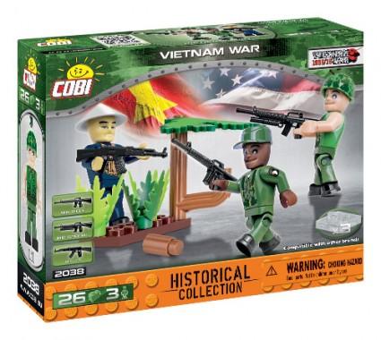 Vietnamkriegssoldatenfiguren (2038)