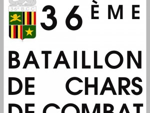 Badge of the 36th battalion of battle tanks