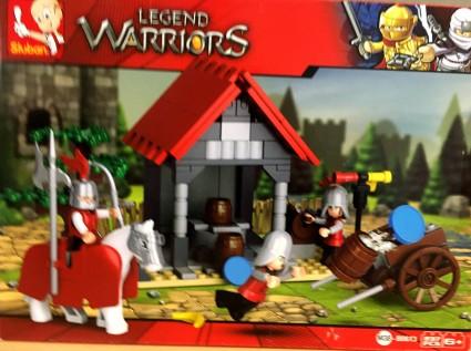 SLUBAN B0613 The water transport of the knights