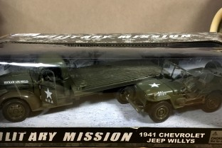 Military mission 1941 CHevrolet et Jeep