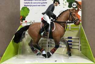 PAPO Show Horse and Rider