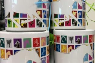 Small horses mug