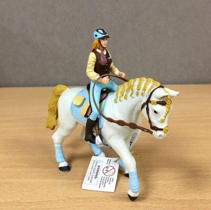 PAPO Cavaliere and horse Fashion blue