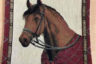 Mini cushion cover 22X22 cm Horse 2