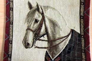 Mini cushion cover 22X22 cm Horse 3