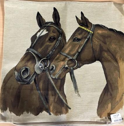 Kissenbezug 45X45cm Duo Pferd