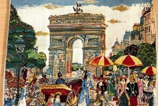 Cushion cover 45X45cm Paris Arc de Triomphe