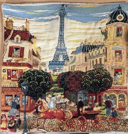 Kissenbezug 45X45cm Paris Tour Eiffel