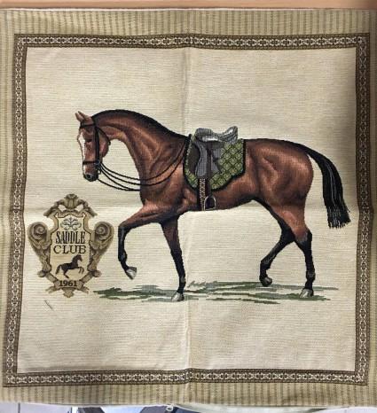 Kissenbezug 45X45cm Pferd 1
