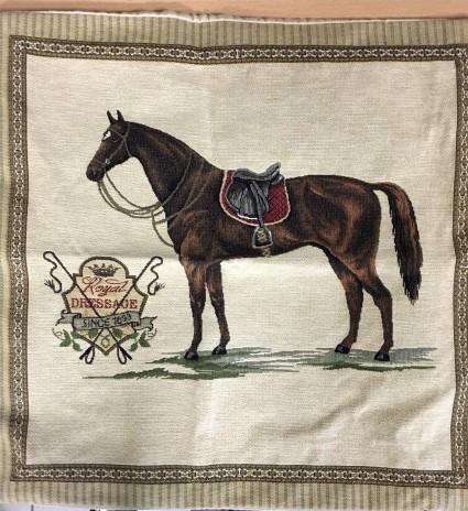 Kissenbezug 45X45cm Pferd 2