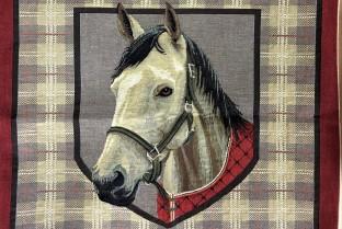 Cushion cover 45X45cm Horse 3