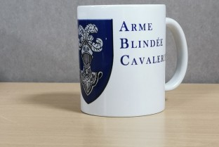 Cavalry Armored Weapon Mug