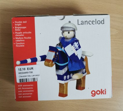 Lancelod GOKI articulated knight wood