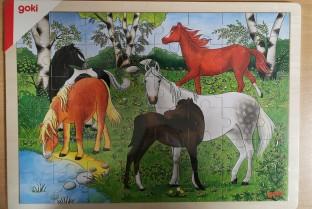 GOKI木拼图小马农场